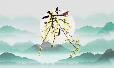 【南吕】一枝花_春雨润夭桃